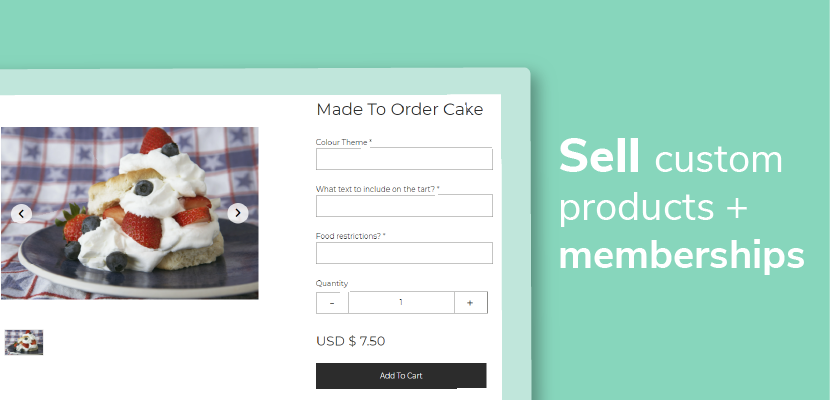 Sell Custom Products Blog Feature